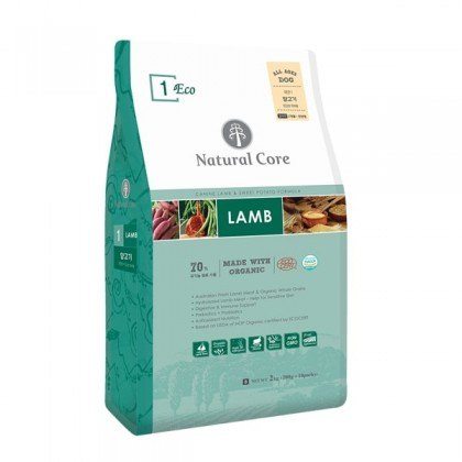 Natural Core Eco 1 Organic Lamb (Dog) - 1kg