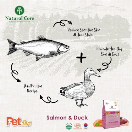 Natural Core Eco 6 Organic Sensitive Salmon (Dog) - 1kg