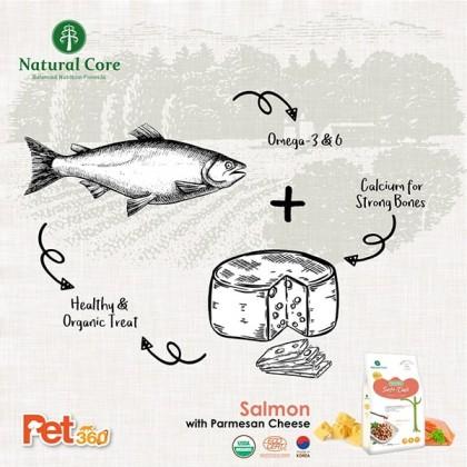 Natural Core Soft Deli (Salmon & Cheese) (Dog) - 800g