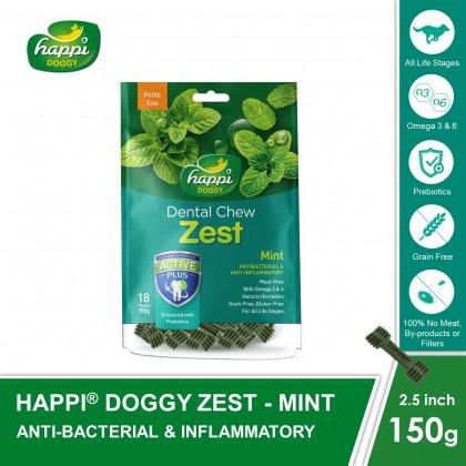 Happi Doggy® Dental Chew Zest (150g)