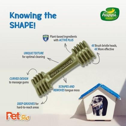 Happi Doggy® Dental Chew Zest (4 inch) - 50pcs