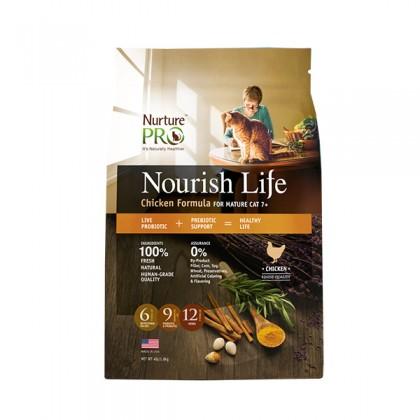 Nurture Pro Nourish Life Chicken Formula for Mature Cat 7+ - 300g