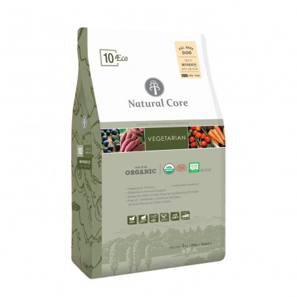 Natural Core Eco 10 Organic Vegetarian (Dog) - 6kg